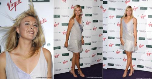 Maria Sharapova in Looking For Hero Premier