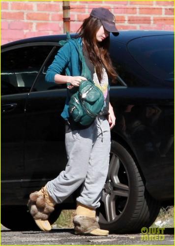 Megan out in LA