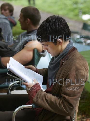Merlin Behind Scene
