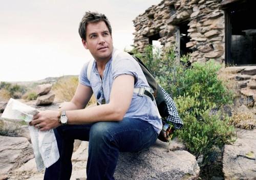 Michael Weatherly Phototshoot for CBS Watch Magazine