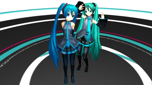 Miku Miku and athe vocaloid!
