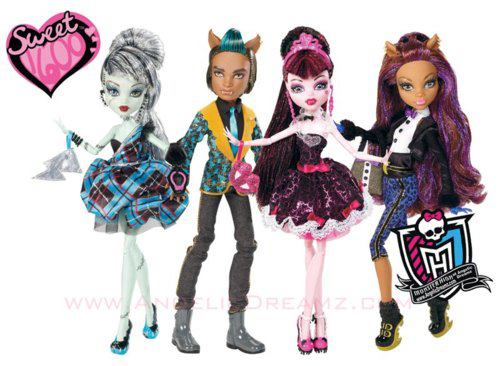 Monster high Sweet 1600