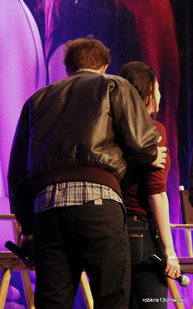 More Robsten Moments BD convention