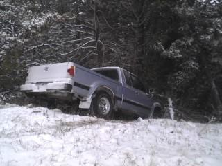 My friend Zach's big mishap yesterday!