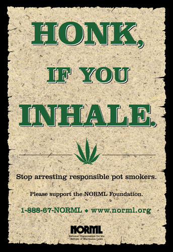 NORML Poster - marijuana Photo