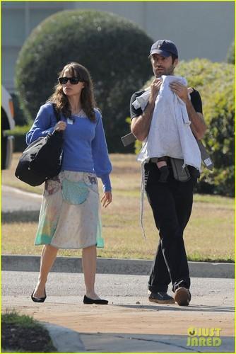 Natalie Portman & Benjamin Millepied: Gardens with Aleph!