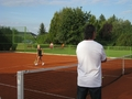 Navratil trains future star - tennis wallpaper