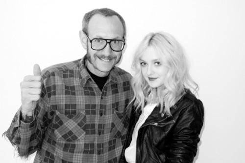New Dakota Fanning Photoshoot with Terry Richardson