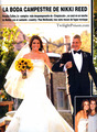 New Wedding pics in the November issue of  'Hola' magazine (Spain) - nikki-reed photo