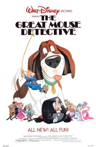 The Great Mouse Detective wallpaper containing anime entitled Original movie poster