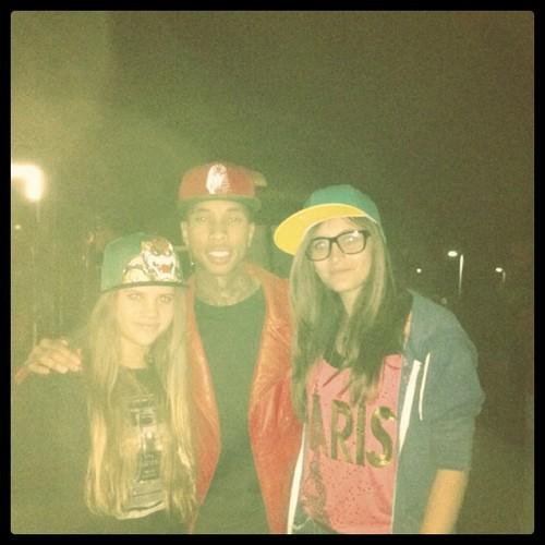 Paris, Sofia & Tyga
