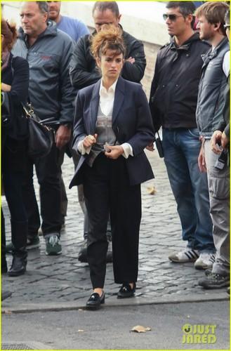 Penelope Cruz: Stroller Push for 'Venuto al Mondo'