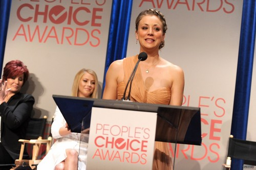 Kaley Cuoco images People's Choice Awards 2012 Nominees Announcement HD wallpaper and background photos