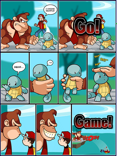 Pokemon Trainer vs. Donkey Kong