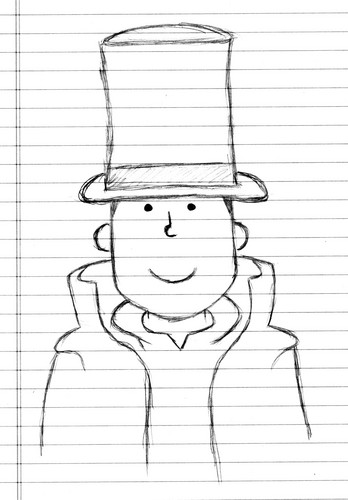 Professor Layton sketch