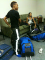 RAY RAY AND PRODIGY PREPARING FOR SCREAM SHOW - mindless-behavior photo