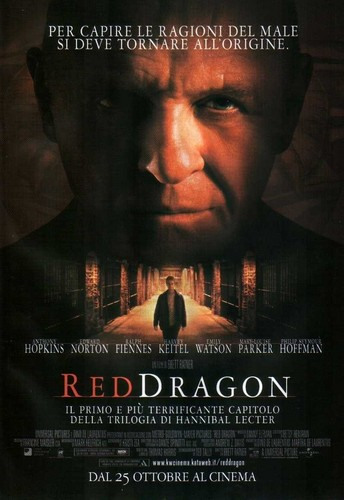 Red Dragon - International Posters