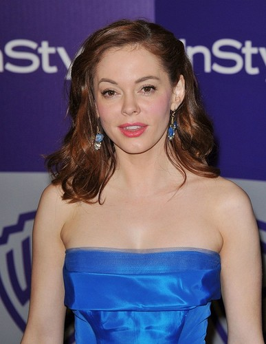 Rose - 11th Annual Warner Bros. and InStyle Golden Globe - January 17, 2010