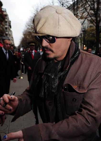 rum Diary photocall Paris
