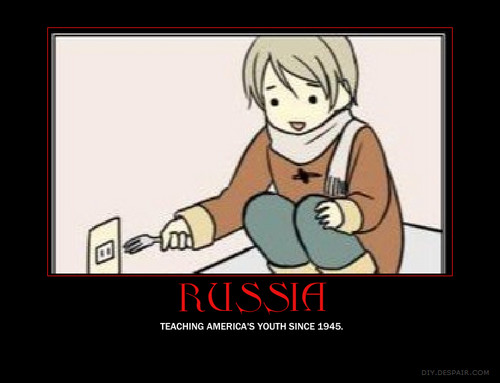 Russia teaches children