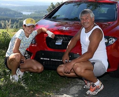 Sablikova and Novak bronze look