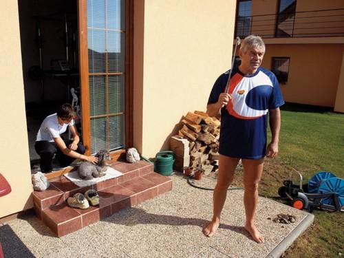 Sablikova and Novak in Home