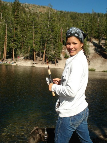 Sandra Fishing