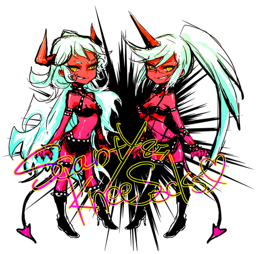 Scanty and Kneesocks