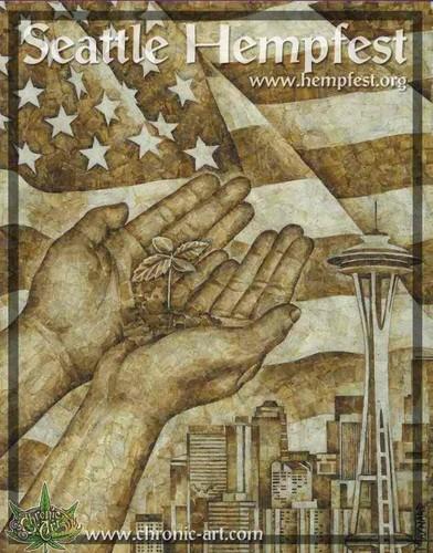 Marijuana wallpaper called Seattle Hempfest 2009 Additional Poster