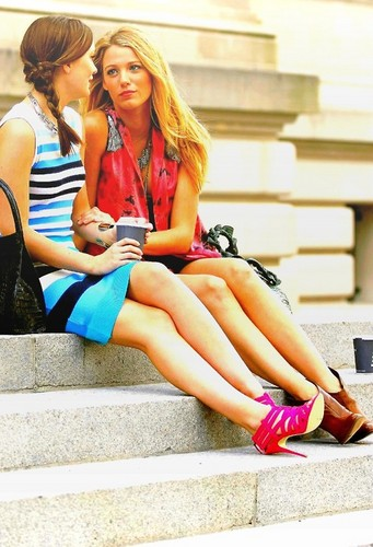Serena&blair - serena-and-blair Fan Art