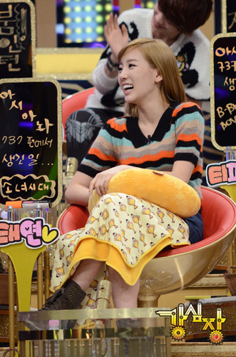 Taeyeon on Strong jantung