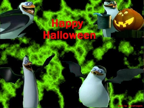 The Penguins of Madagascar Happy हैलोवीन