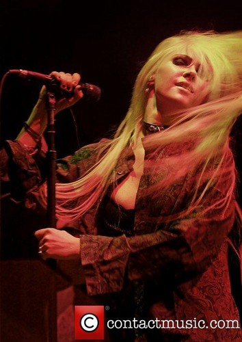 The Pretty Reckless performs live at Manchester Apollo