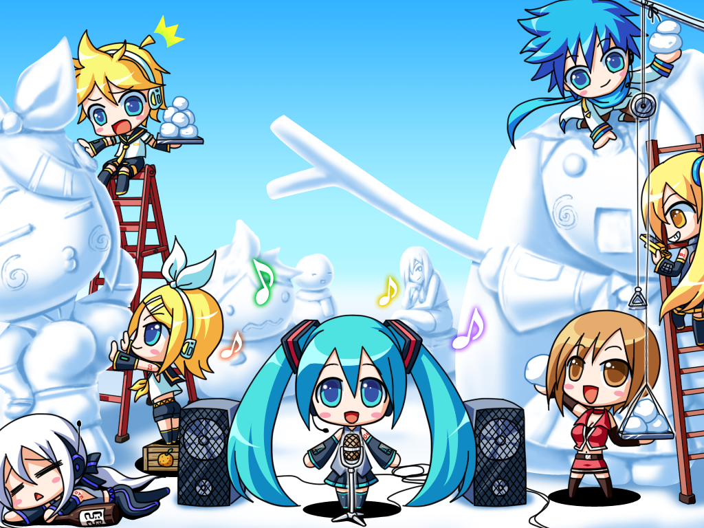 Our Vocaloid Family Images The Vocaloids HD Wallpaper And Background Photos