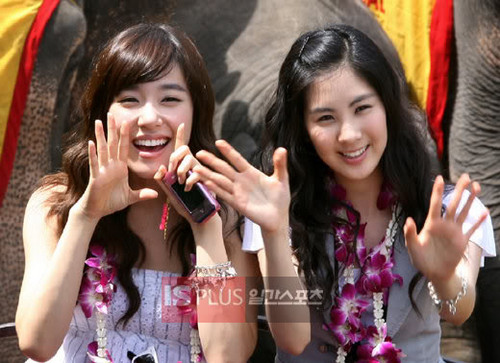 Tiffany and Seohyun