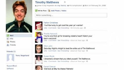 Timothy Matthews Facebook