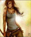 Tomb Raider Survival by nasheboy - tomb-raider-reboot fan art
