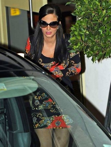 Tulisa Spotted Leaving The X Factor Studios