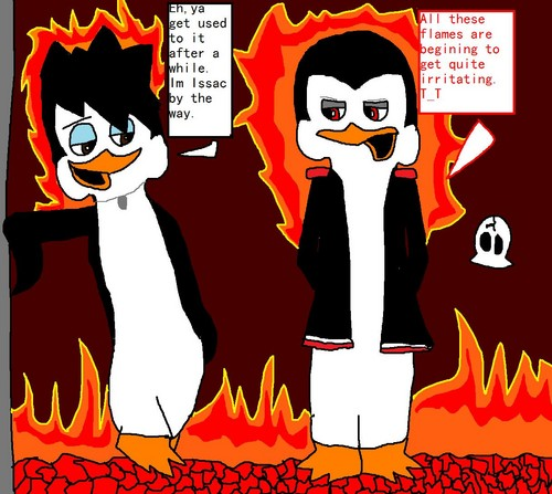 Two jerks in hell