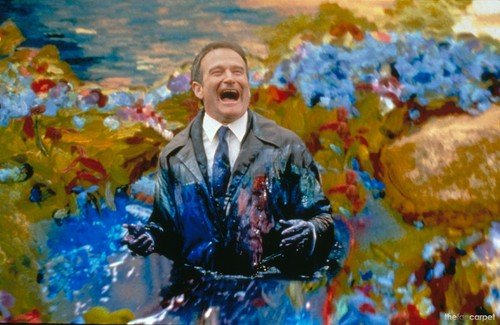 Robin Williams wallpaper possibly with a business suit titled What Dreams May Come