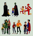 With Their Mentors - young-justice photo