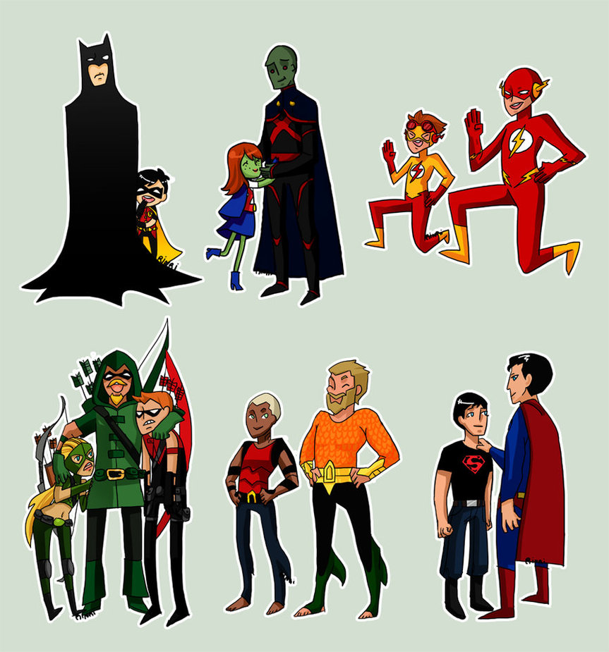 Young Justice Images With Their Mentors HD Wallpaper And Background Photos