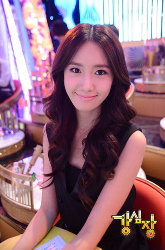 Yoona on Strong cœur, coeur