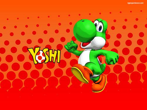 Yoshi wallpaper titled Yoshi