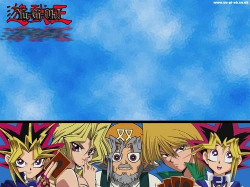 Yu-Gi-Oh fond d'écran containing animé called Yu-Gi-Oh!