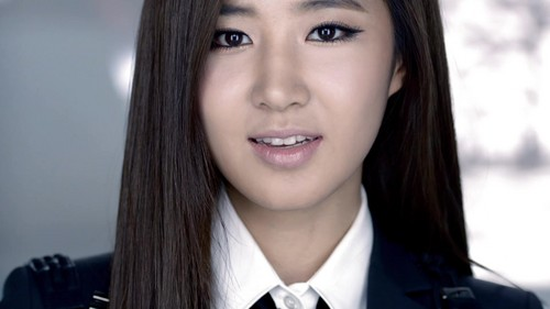Yuri snsd black suit cum tribute Part 5