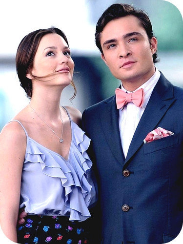 Blair & Chuck Hintergrund entitled blair & chuck.