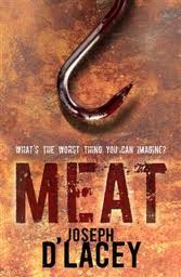 cover for novel 'meat'
