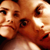 The Vampire Diaries photo containing a portrait called delena