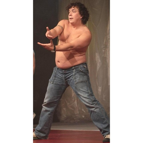 fat man (czech actor Genzer)wild dancing !